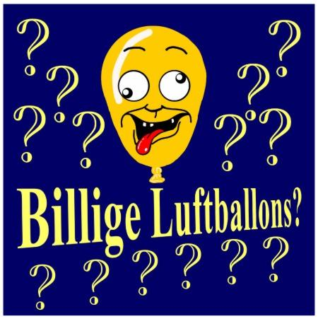 Luftballons billig, billige Luftballons